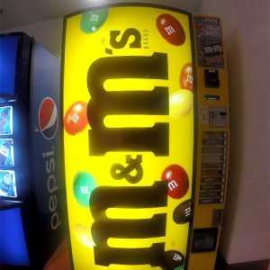Vending M&M's - Ice Centre at the Promenade - Westminster, CO